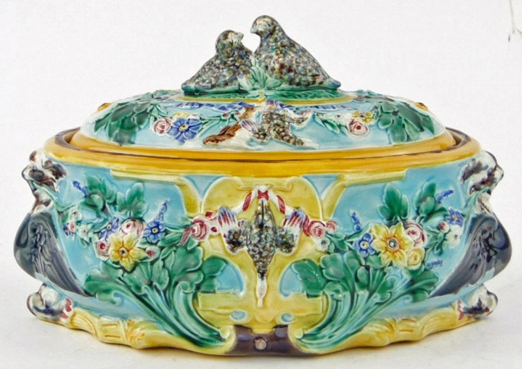 Game Pie Dishes Majolica International Society