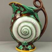 Wedgwood nautilus shell pitcher