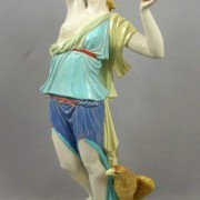 Royal Worcester Green Godde figure