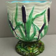 Cattail vase