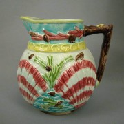 Coral and Shell pitcher