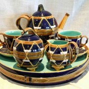 George Jones drum tea set