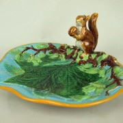 George Jones squirrel nut dish