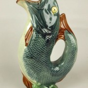 """Gurgling fish"" pitcher"