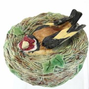 Birds nest trinket box