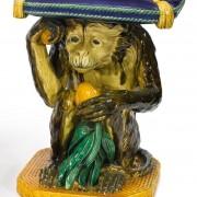 Minton monkey garden seat