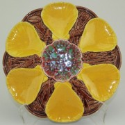 Victoria Pottery shell oyster plate