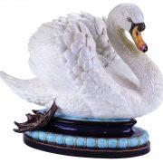 Monumental swan tureen